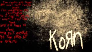 KoRn- Right now  (HD lyrics)