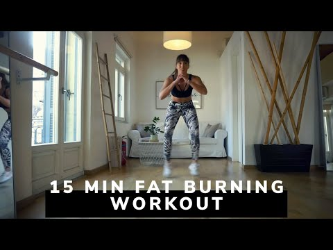 15 Min Fat Burning Leg Workout | No Equipment
