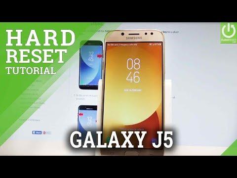 Mobile Info: Samsung Galaxy j5 Reset