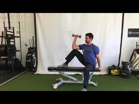 """Seated Shoulder External Rotation """"Costanzas"""""""