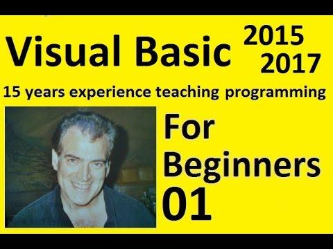 Microsoft Visual Basic For Beginners, Installing Visual Studio Community Edition Part 1