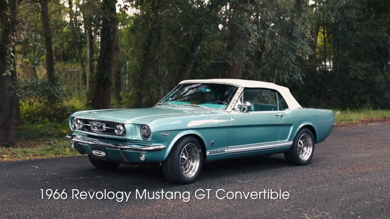 Production car review tahoe turquoise 1966 revology mustang gt convertible