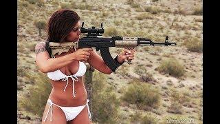 девушки и оружие ! нарезка ржаки ! приколы ! смех ! юмор ! прикол !