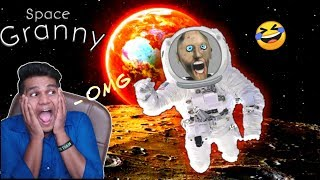 Granny in Space - Granny Space Mode ( Free Android Game ) l Beastboy Shub Horror Game