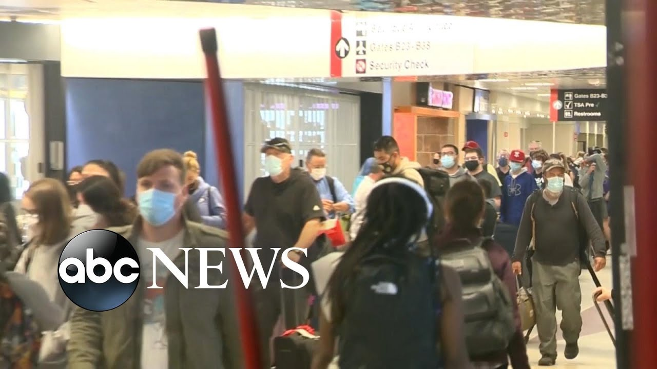 Download ABC News Live: US unveils new international COVID-19 travel requirements