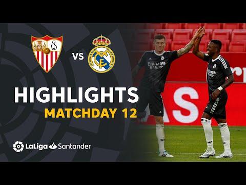 Sevilla Real Madrid Goals And Highlights