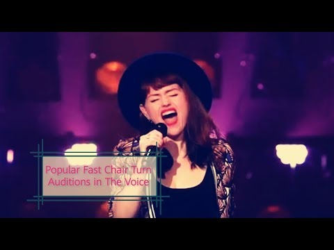 POPULAR FAST-CHAIR AUDITIONS IN THE VOICE  THE VOICE MASTERPIECE
