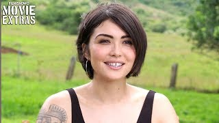 "JURASSIC WORLD: FALLEN KINGDOM | On-set visit with Daniella Pineda ""Zia Rodriguez"""