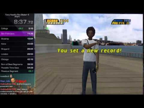 Tony Hawk's Pro Skater 4 Speedrun in 42:38