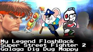 My Legend Flashback Games Galaga Mappy Dig Dug