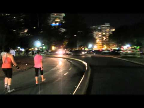Rollerblading in Buenos Aires