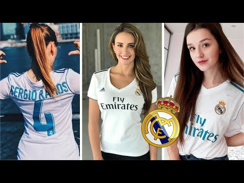 Most Beautiful Real Madrid Fans in The World - Happy Weekend