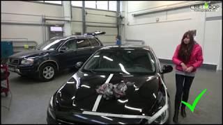 видео Оклейка и бронирование автомобиля виниловой