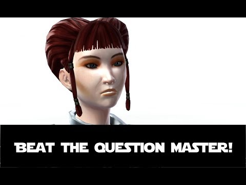 Noetikon of Secrets -  Beat the Question Master! SWTOR Jedi Consular