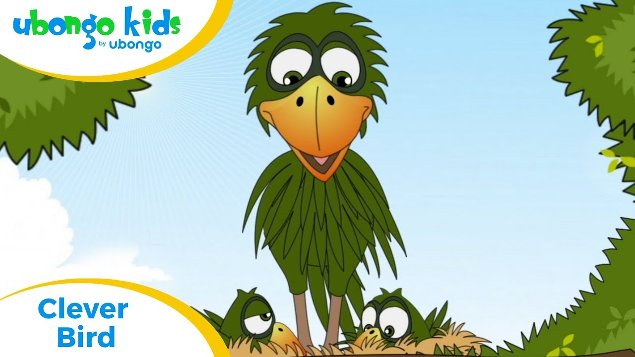Full Episode #2: Clever Bird | Ubongo Kids | Educational Cartoons from Africa