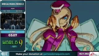 Mega Man Zero 2 by tonic in 1:01:27 - SGDQ 2016 - Part 153