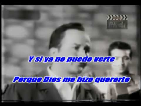 Historia de un amor  Pedro Infante karaoke  (con mariachi)