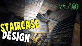 Staircase Design | 7 Days To Die Valmod | S7 E50