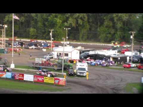 Modified Heat 1 @ Hamilton County Speedway 07/16/16