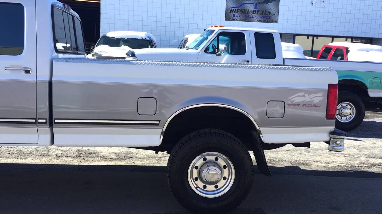 Ford F250 Powerstroke Turbodiesel Crew Cab Styleside Short Box 4x4 3