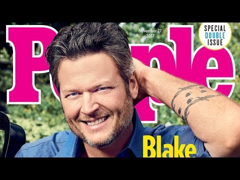 Blake Shelton Named People's 2017 Sexiest Man Alive & Twitter Reacts