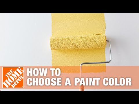 How To Choose A Paint Color | The Home Depot