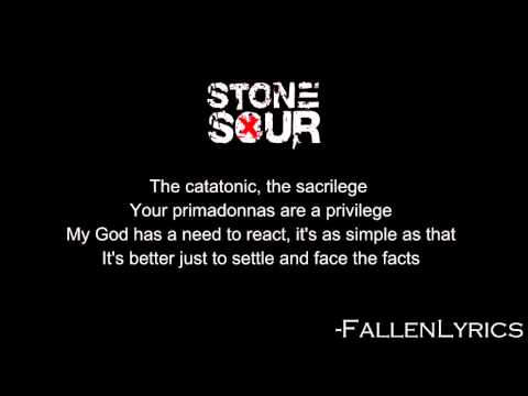 Stone Sour - Absolute Zero [Lyric Video] [HD]