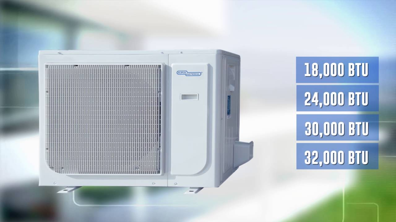 Super General Eforce Series of Split Air Conditioners - YouTube