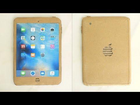 How to Make a iPad with Cardboard - DIY apple iPad