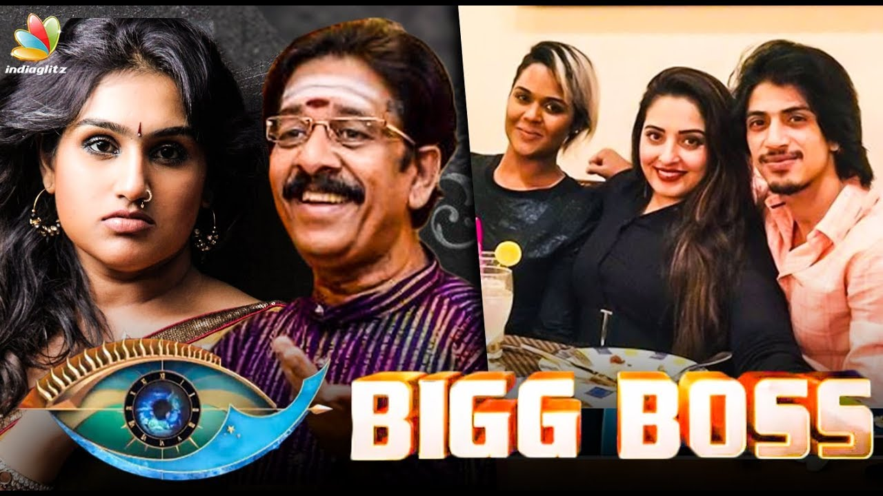 Breaking: Bigg Boss 3 contestants revealed! | Hot Tamil Cinema News |  Vanitha Vijayakumar