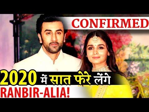 Confirmed: Alia Bhatt and Ranbir Kapoor To Tie Knot In 2020