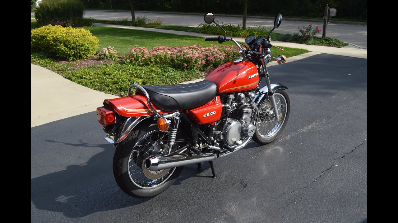 1978 Kawasaki KZ1000 FOR SALE - YouTube