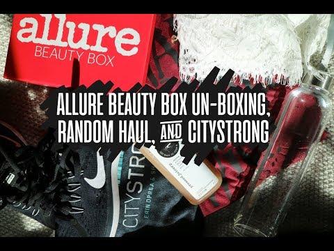 Allure Unboxing, Random Haul, & Citystrong  Alyssa Anne