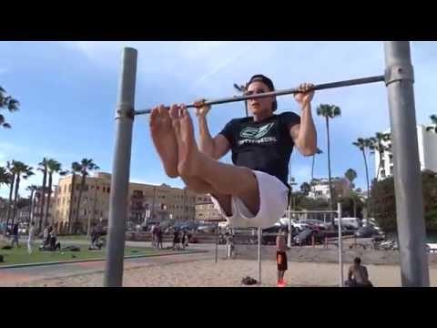 Santa Monica Beach Workout