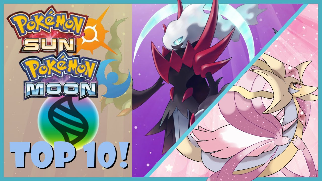 ... Sun and Moon MEGA EVOLUTION Wish List! | CWpoke Top 10 - YouTube
