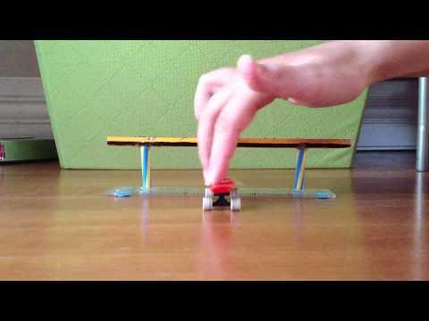 Penny tech deck Tricks