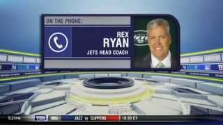Rex Ryan on the New York Jets' fight - The Michael Kay Show