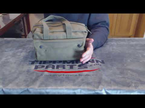 US Army Mechanics Tool Bag Overview Video