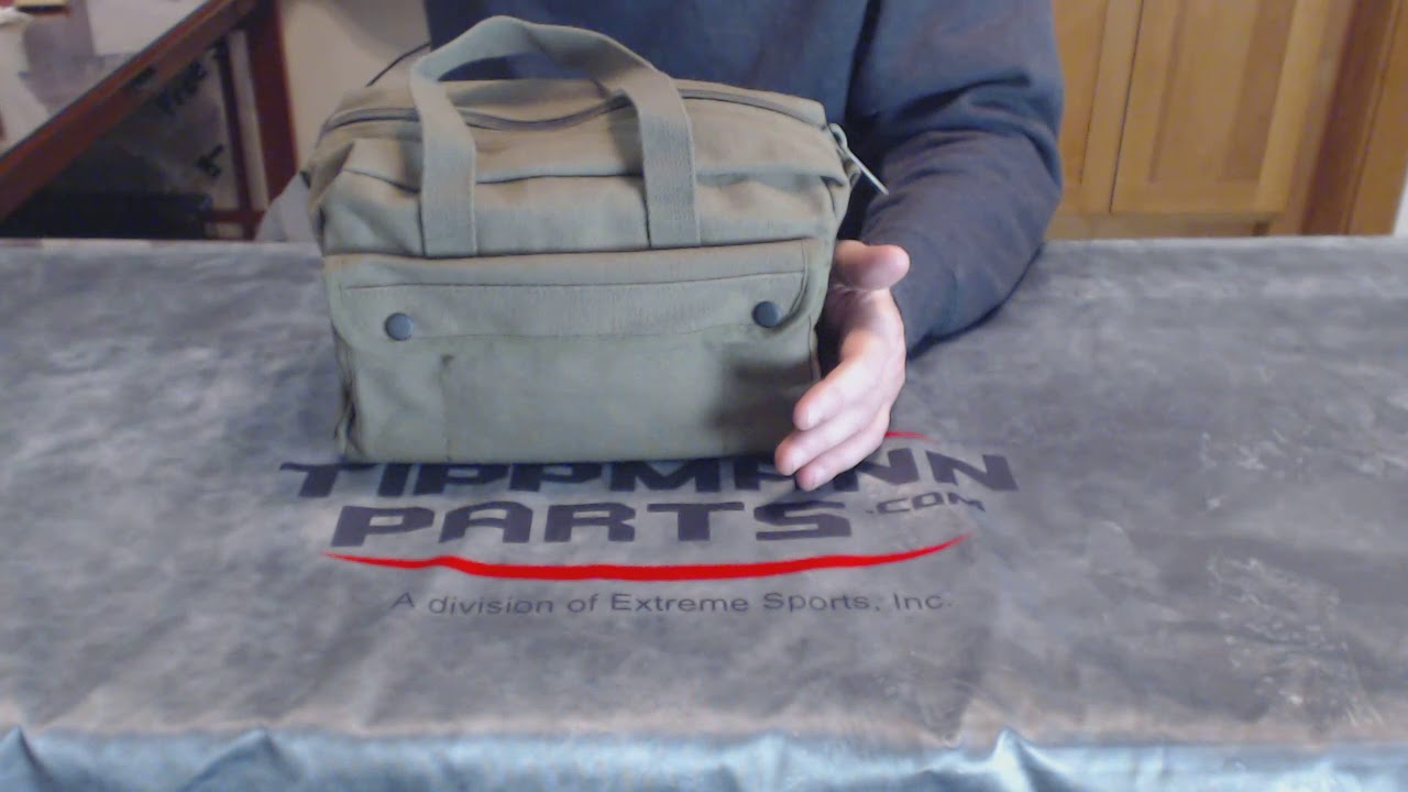 Us Army Mechanics Tool Bag Overview Video