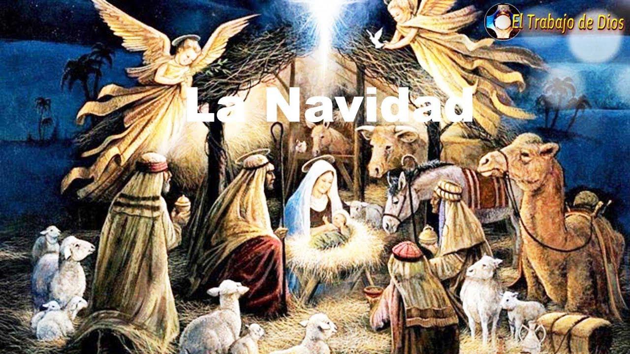 Navidad Nacimiento De Jesus Novena Niño Jesus Dios