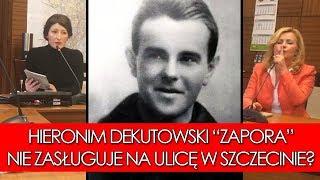 """mjr Dekutowski ps. """"Zapora"""" niegodny, aby być patronem szczecińskiej ulicy?"""