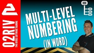 How To Create Multilevel Numbering In Word (That Actually Works)