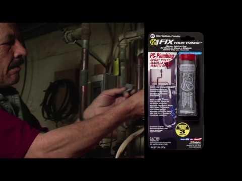PC Plumbing putty epoxy