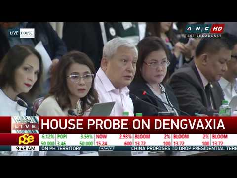 WATCH: House investigates Dengvaxia controversy | 26 February 2018