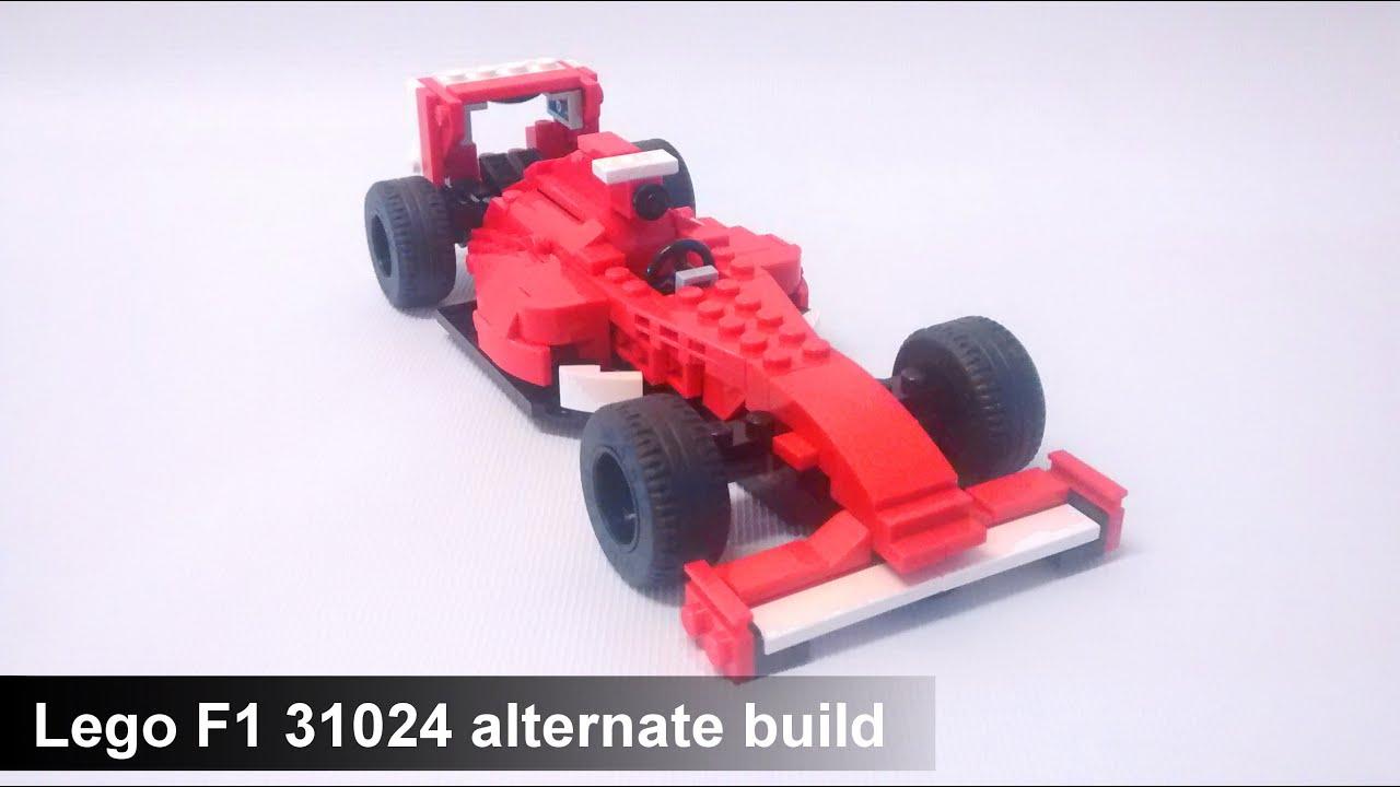 Lego F1 31024 Alternate Build Ferrari F1 Car Youtube