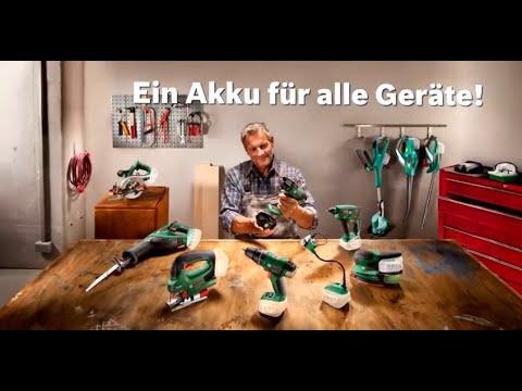 """Bosch 18 Volt Lithium-Ionen Akkusystem """"Power4All"""