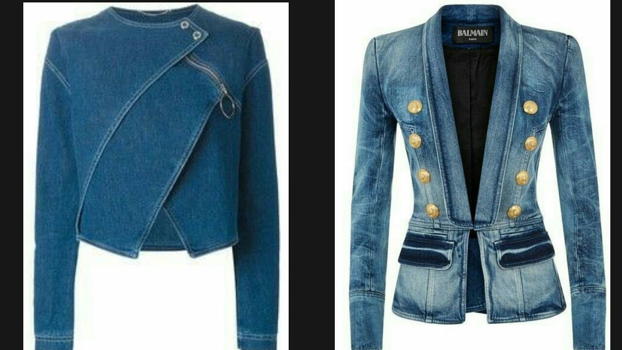 Latest Jeans Denim Jacket Design Collection For Girls Collection Of