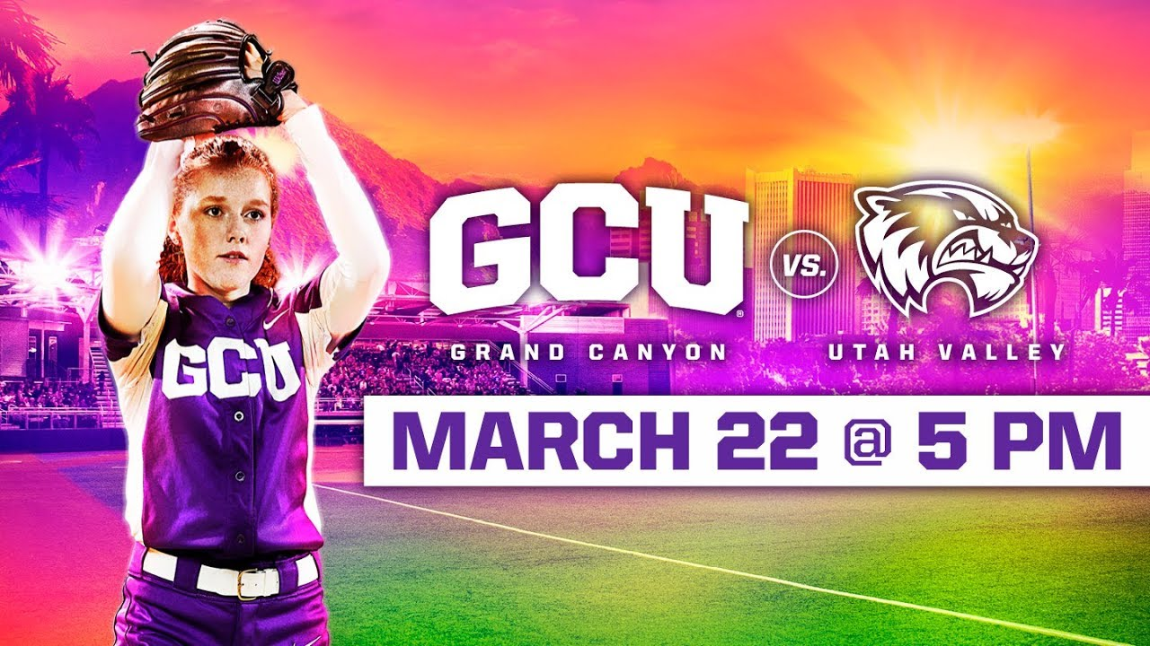 GCU Softball vs. Utah Valley (DH Game 1) March 22, 2019