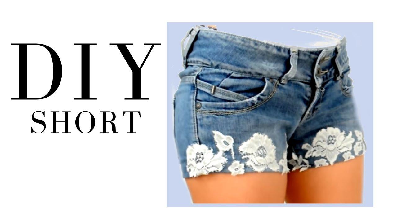 Como Hacer Unos Shorts Facilmente Diy Short Jeans Vaqueros Transforma Tu Ropa 2 Youtube