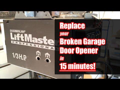 How To Change Garage Door Opener